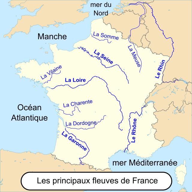 fleuves français