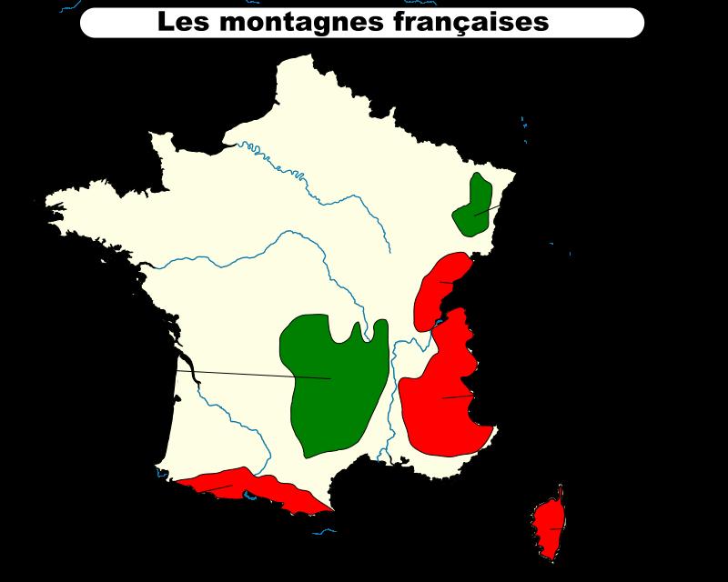 montagnes françaises